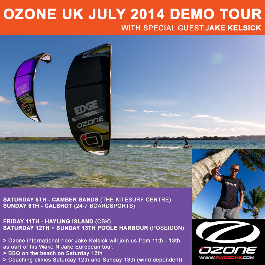 Ozone UK Demo Dates for July