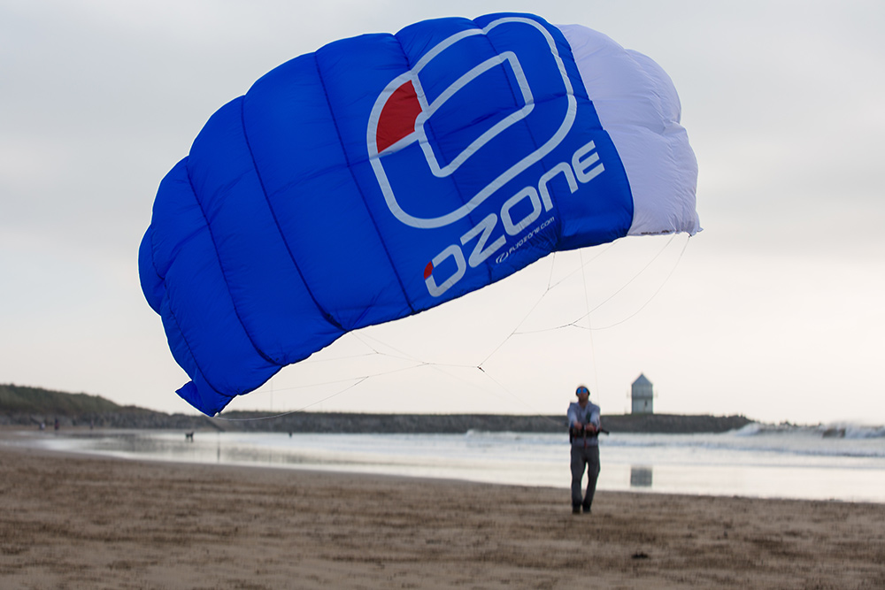 Ozone Ignition Trainer kite review