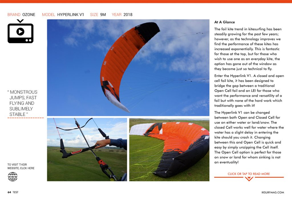 IKSURFMAG review the Ozone Hyperlink