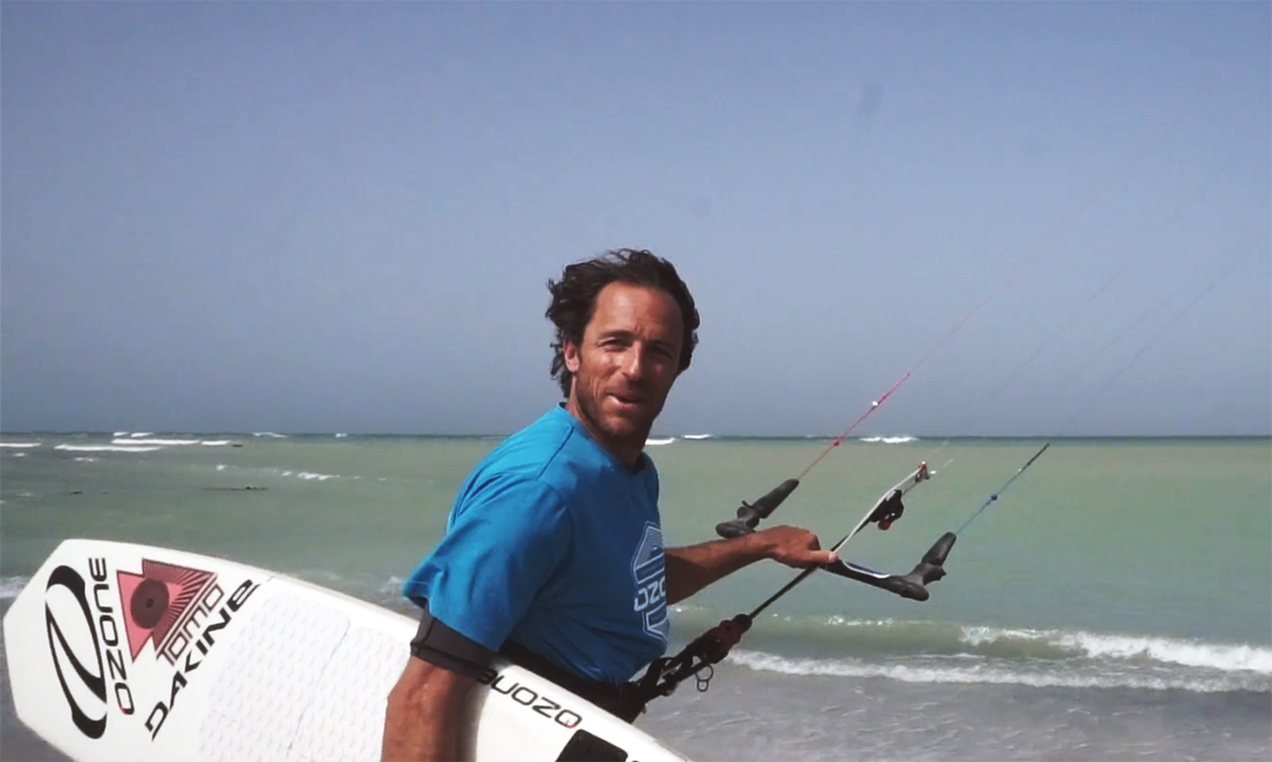 Marc Ramseier Wave Kiting in the Middle East