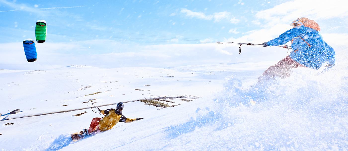 Ozone Snowkite range