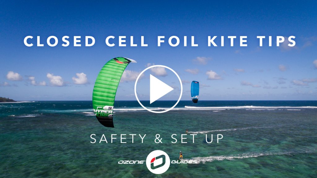 Ozone Closed Cell Foil Kites Safety And Set Up Ozone