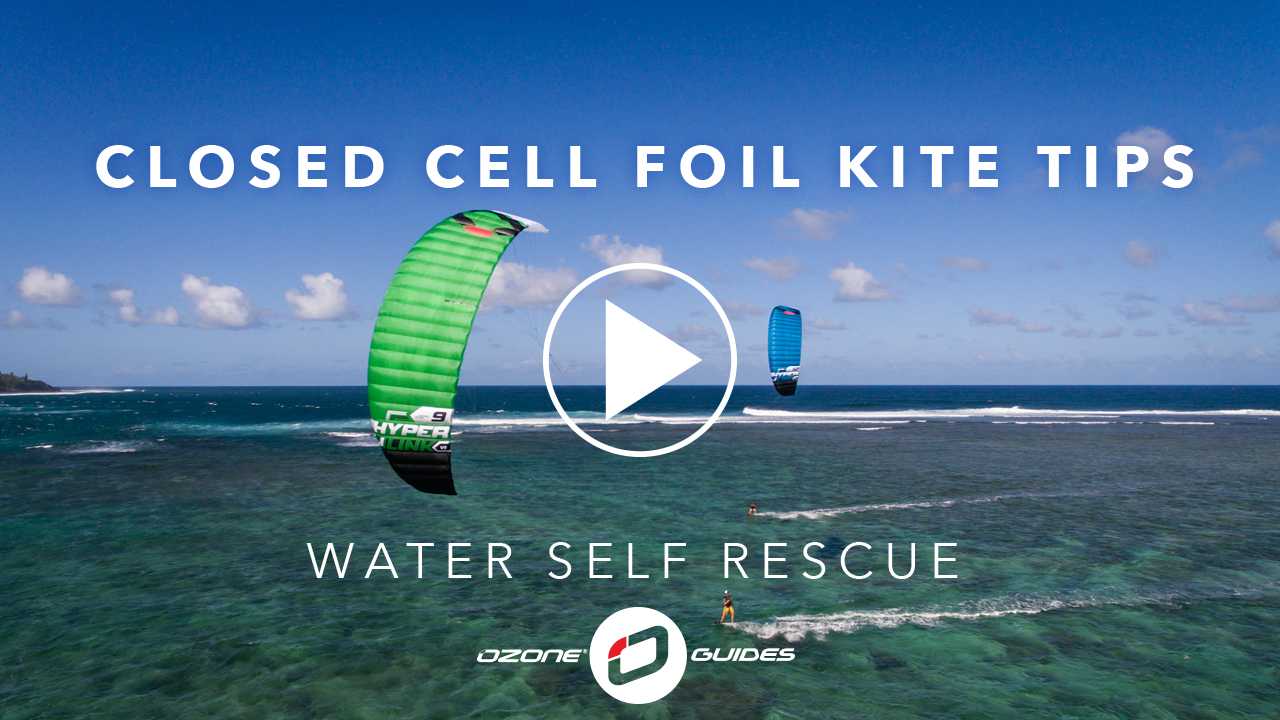 Ozone Closed Cell Foil Kites – Water Self Rescue