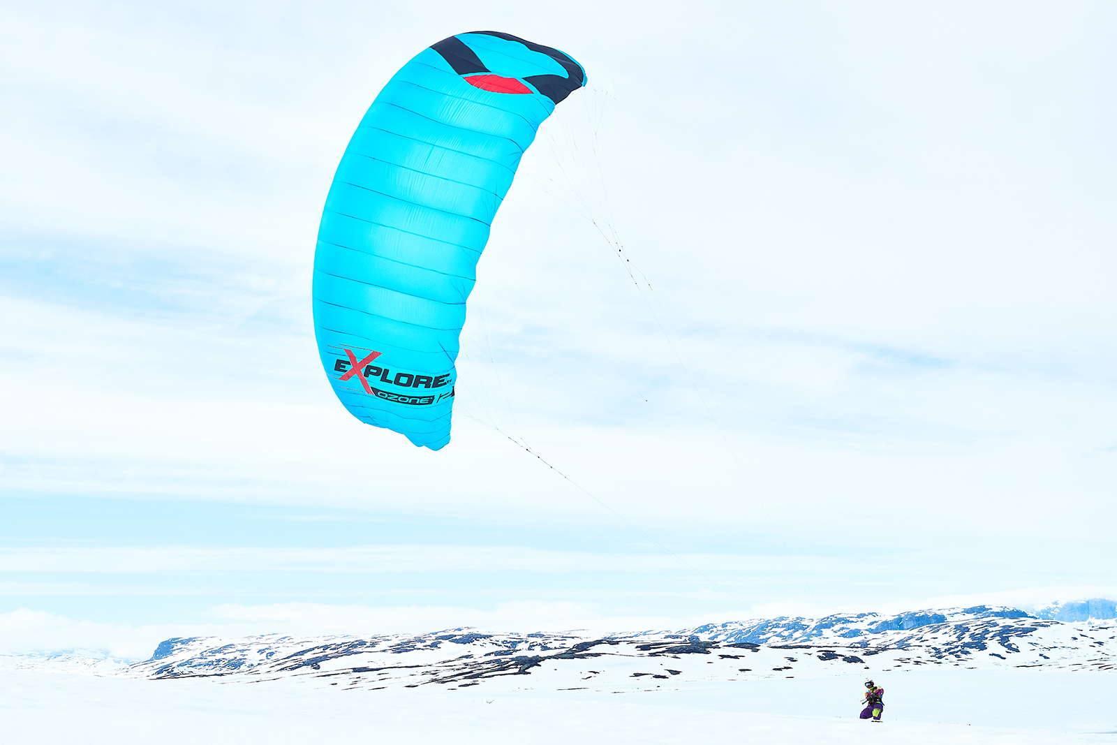 Explore V1 – New Single Skin Snow Kite