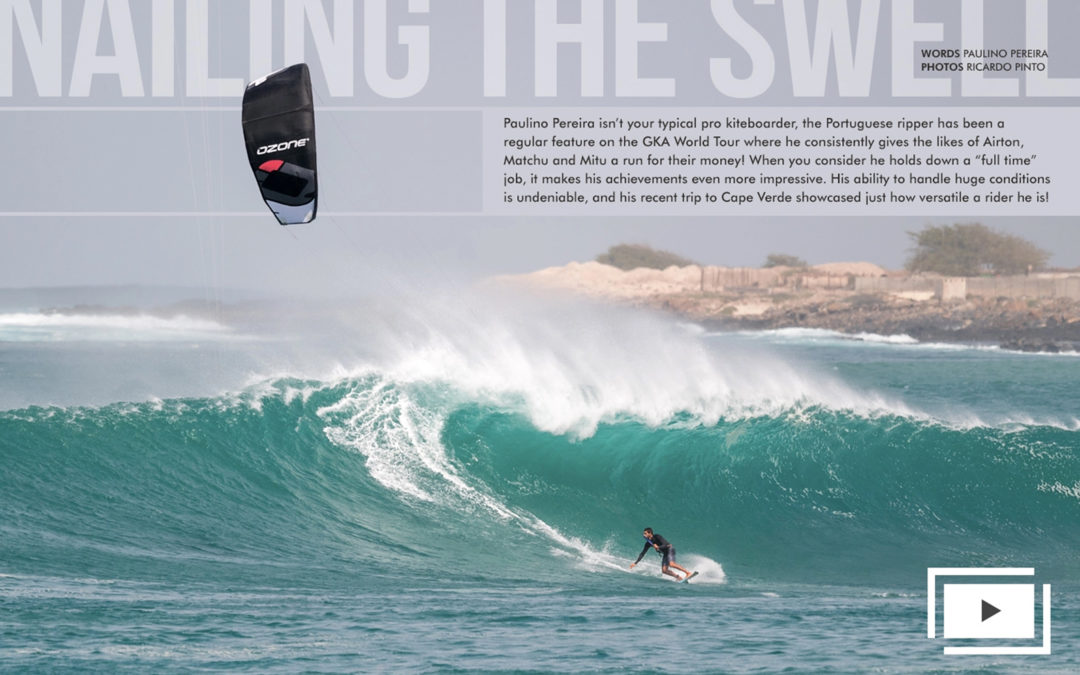 Paulino Pereira – Nailing the Swell