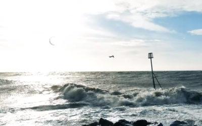 Oli Sweeney – Windy Day Kitesurfing