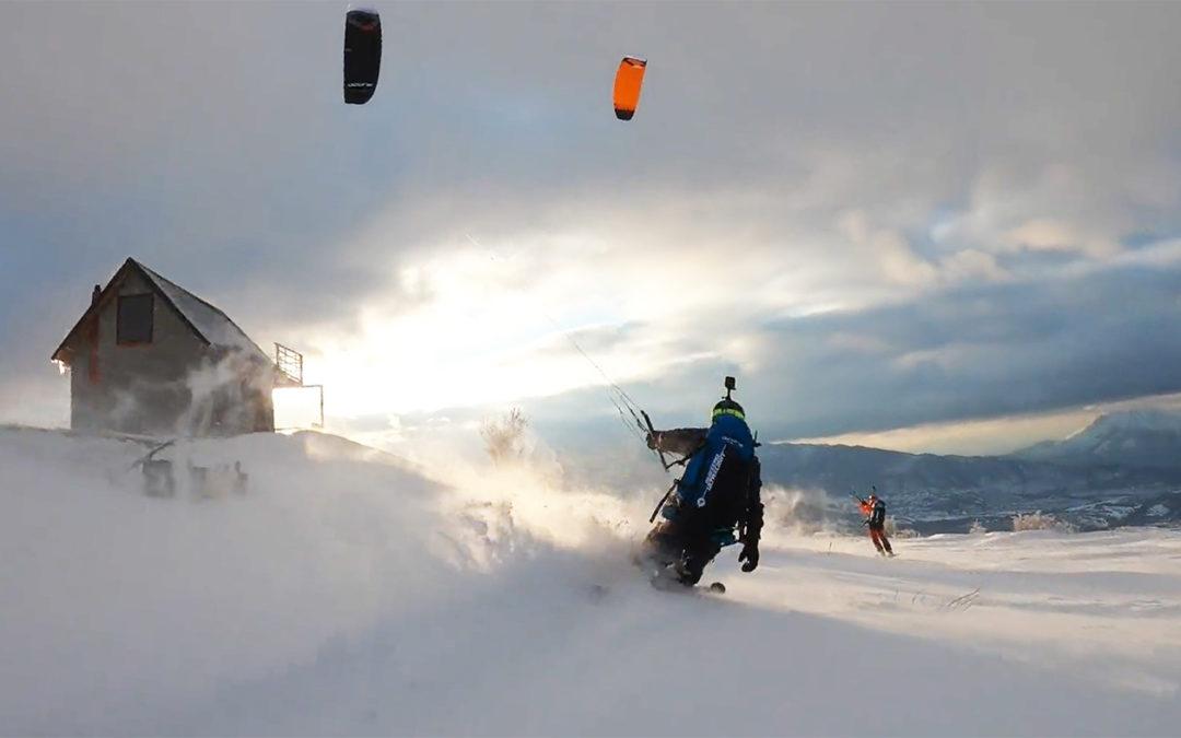 Kosovo Snowkite Paradise