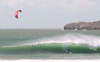 Paulino Pereira ripping waves in Peniche
