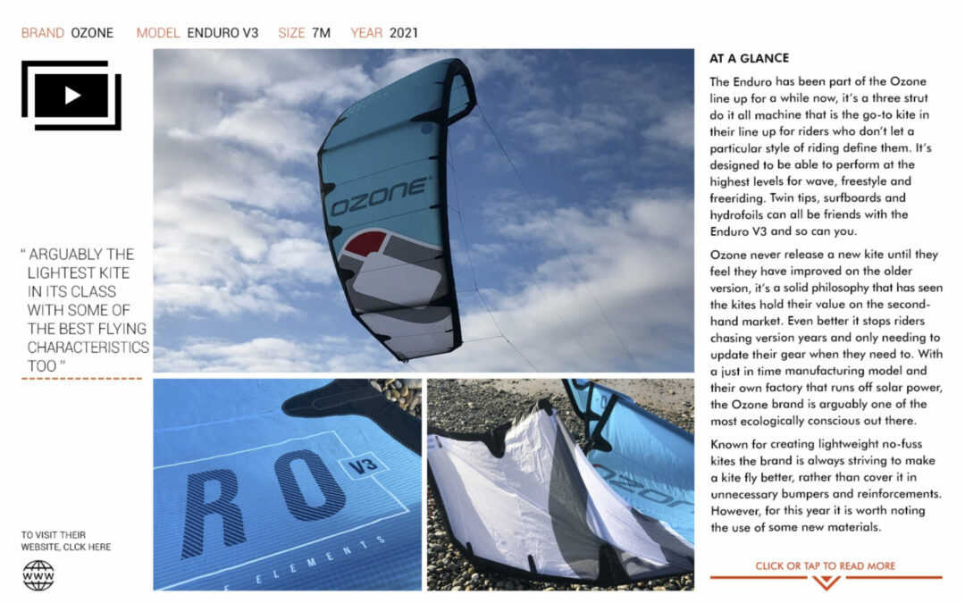IKSURFMAG Review the ENDURO V3